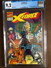 X-Force #1 Aug 1991, Marvel Comics, CGC Grade 9.2 NM-