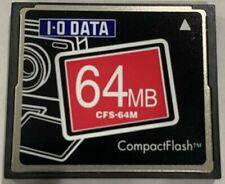 I-O Data 64MB COMPACT FLASH, CFS-64M - Used