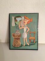 Vintage 1961 Hanna-Barbera Flintstone's Frame Tray Puzzle