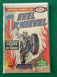 EVEL KNIEVEL Vintage 1974 Comic Book, Marvel Comics & Ideal Toys