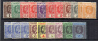 Leeward Islands 1921-32 values to 2s MH