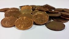 FULL ROLL 1989 CANADA ONE CENT PENNIES CIRCULATED