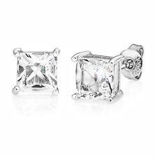 Orecchini quadrati impreziosito con cristalli di Swarovski ® in Scatola Regalo