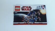 LEGO STARWARS!!! Istruzioni solo!!! PER 8086 Droid Tri-Fighter