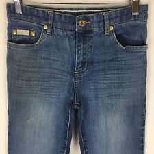 Baby Phat Womens Junior Jeans 3 Denim Boot Cut Embroidered Distressed U24