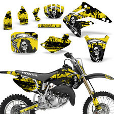 Decal Graphic Kit Honda MX CR85R Bike Sticker Wrap with Backgrounds 03-07 REAP Y