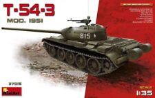 Miniart 1/35 T-54-3 Mod.1951 tanque medio soviético # 37015