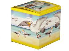 """Tierstimmendose Vogeldose """"Möwe am Strand"""" im Geschenkkarton Tierstimmen Dose"""