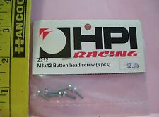 HPI HOBBY R/C RADIO CONTROL CAR PARTS Z212 BUTTON HEAD SCREWS M3X12 SILVER