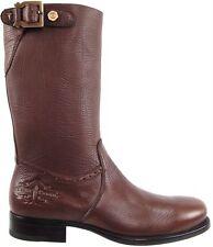 Authentic Cesare Paciotti US 9.5 Deer Skin Leather Boots Italian Designer Shoes