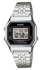 Casio LA-680W Orologio Donna polso Vintage Nuovo Crono Sveglia Luce Batt. 5 anni