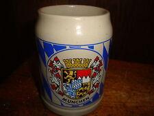 Vintage Munchen Beer Mug West Germany Ceramic Mug .5 Liter