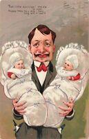 Postcard Two Little Darlings