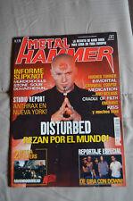 Metal Hammer Magazine Spain 179 October 2002 - Disturbed, KISS, Anthrax, Enchant
