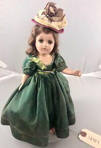 "11"" Antique American Composition 1930's Scarlet O'Hara Doll! Rare! 18151"