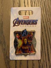Disney Marvel Avengers Endgame Captain Marvel Black Widow Nebula Pin