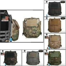 500D Nylon Tactical Vest Pouch Zipper Bag Panel For Tactical AVS JPC2.0 CPC Vest