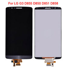 Original For LG G3 D855 D850 D851 D858 LCD Digitizer Touch Screen Assembly BLACK