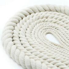 Organic COTTON ROPE Twine Bag Handle, Decor, Pet Toys, Craft, 6,8,10,12,14 mm