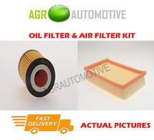 PETROL SERVICE KIT OIL AIR FILTER FOR OPEL AGILA 1.2 75 BHP 2000-04