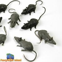 SCARY CREATURES MICE x 8 horror fancy dress prop halloween party decoration