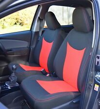 Toyota Yaris 3rd Gen Tailored Fabric Car Seat Covers / Protectors 2011-Present