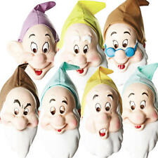 Disney Seven Dwarf Masks Adults Fancy Dress Snow White Mens Costume Accessories