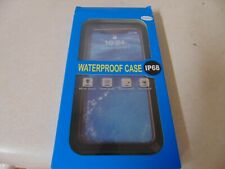 PHONE CASE FOR IPHONE 6.1 INCH WATERPROOF CASE BLACK