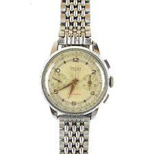 Vintage ORFINA Chronograph Landeron Mvmt Anti-Magnetic Mens Wristwatch 17J Swiss