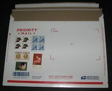 UNITED STATES Flat Rate Priority Mail Envelopes lot of 50 STAMPED w/PROPER RATE