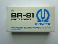 Original Pioneer Electronics Br-81 TV Remote Control Console NEW Old Stock