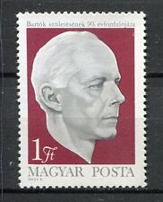 32321) HUNGARY 1971 MNH** Bela Bartok 1v. Scott# 2063