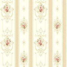 Wallpaper Rose Stripe Companion by York AV2811 Double Roll