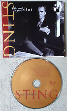 "CD AUDIO INT / STING ""LET YOUR SOUL BE YOUR PILOT"" CD PROMO  1993 POLYGRAM"