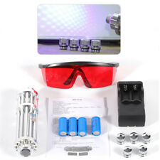 445nm 5mW Blue Beam Light Laser Pointer Lazer Powerful Military Pen with Goggles
