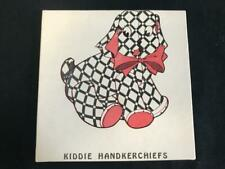 Boxed Set 2 Vintage Kiddie Handkerchiefs Original Box Never Used Children's