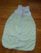 TCM Schlafsack 90 cm, Frühjahr/Sommer, weiß-grün