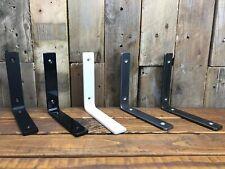 1 x Metal Shelf Bracket•Handmade•Rustic•Industrial•6x30mm Steel•Various Colours
