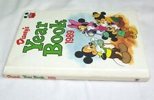 Disney Childrens World Of Reading 1989 Year Book