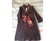 Orla Kiely BNWT Velvet Moleskin Over Dress Size 3 10-12. (vintage?)70s Style