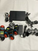 Sony Playstation 2 Slim (PS2) Model SCPH-70012 Complete Console Bundle - TESTED
