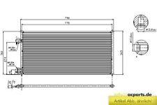 Klimakühler Kühler Klimaanlage Klimakondensator FORD TOURNEO CONNECT 1.8 Di