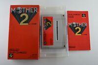 Complete Mother 2 - Rare Japanese Version - Super Famicom SFC CIB- Free Shipping