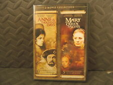MARY QUEEN OF SCOTS + ANNE OF THE THOUSAND DAYS 2 DVD SET