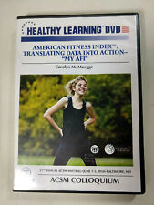 Healthy Learning Dvd: American Fitness Index: Translating Data into Action Afi