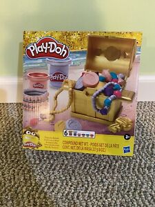 Playdoh Treasure Chest Set. NEW