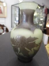 Paul Nicholas Cameo vase D' arengtal, with the cross of Lorraine