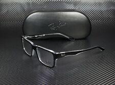 RAY BAN RX5245 2034 Top Black On Transparent Demo Lens 52 mm Men's Eyeglasses