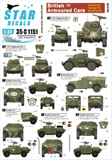 Star Decals 1/35  British Armored Cars: Staghound Humber decals 35C1151 x