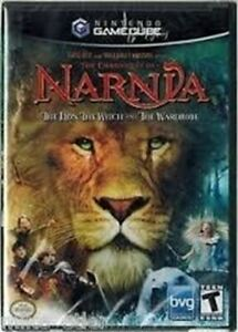 Narnia, The Lion, The Witch, and the Wardrobe - Authentic Nintendo GameCube Game